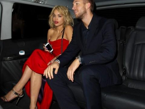 Rita Ora and new boyfriend Calvin Harris plan soppy duet at Virgin Media V Festival