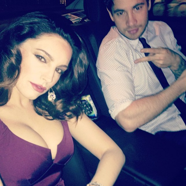 Kelly Brook celebrity juice party danny cipriani