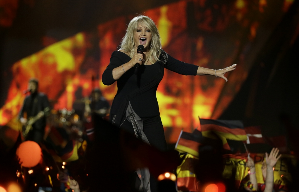 Bonnie Tyler: 'I don't feel down about finishing 19th at Eurovision as I did my best'