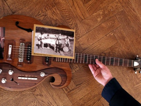 Guitar played by John Lennon and George Harrison sells for £269,000 at auction