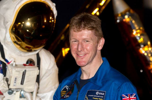Ground control to Major Tim: UK astronaut says he plans to space-tweet, but probably won't play the guitar