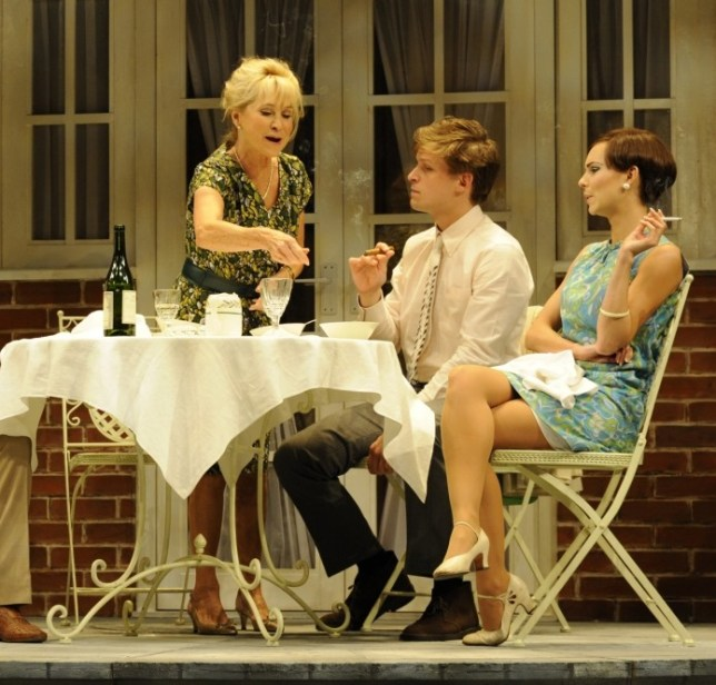 Felicity Kendal, Max Bennett and Kara Tointon star in Relatively Speaking