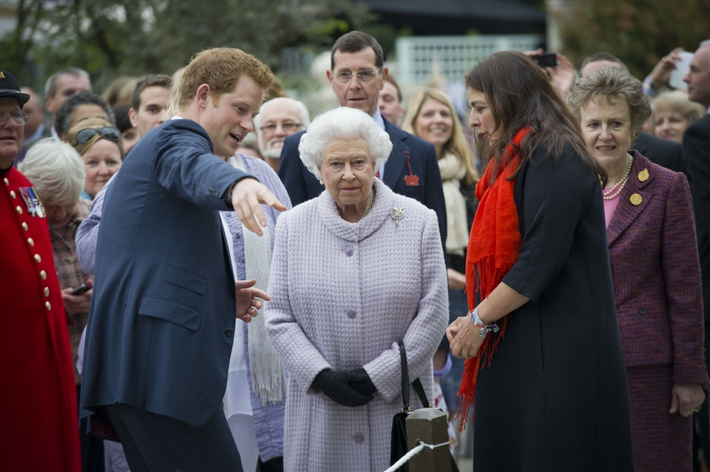 Gallery: Royal family at Chelsea Flower Show 2013