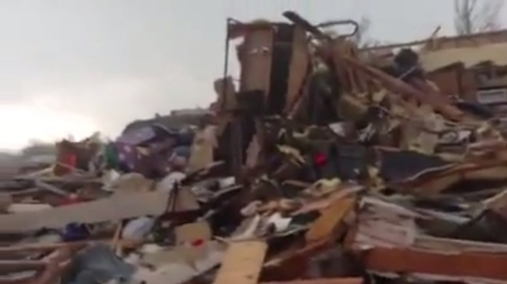 'The Lord giveth, and the Lord taketh away' – family emerges from storm cellar in tornado-hit Moore
