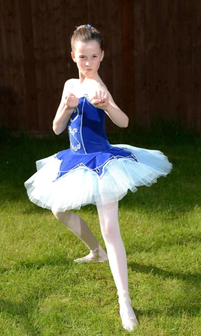 Ava May Lewellyn: Black belt girl wins place at Royal Ballet