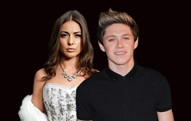 Louise Thompson and Niall Horan