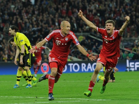 Last gasp Arjen Robben strike steers Bayern Munich to Champions League glory