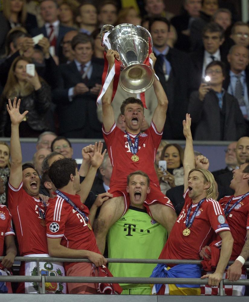 Gallery: Champions League final 2013 – Borussia Dortmund v Bayern ...