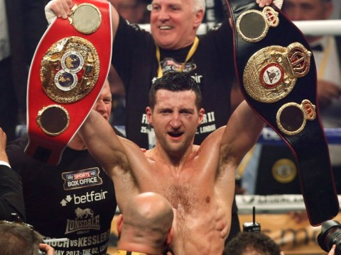 Gallery: Carl Froch defeats Mikkel Kessler at London's O2 Arena
