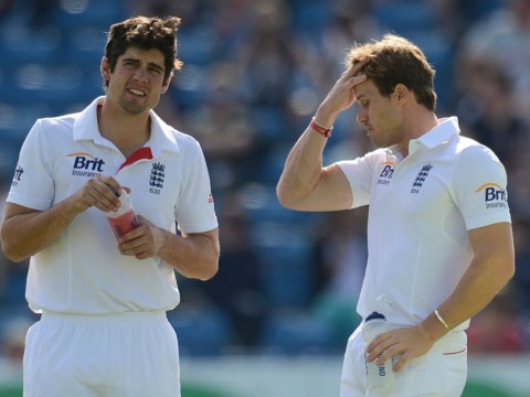 Nick Compton's Ashes place under threat but Alastair Cook wary of change