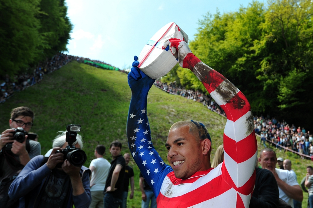 Kenny Rackers, cheese rolling