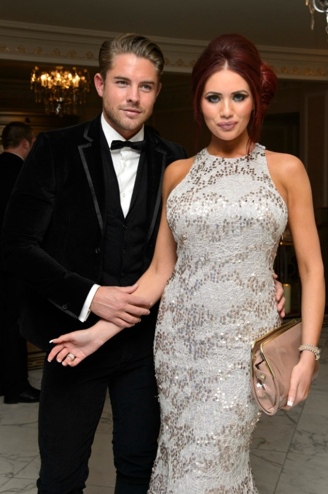 LONDON, ENGLAND - FEBRUARY 09:  (L-R) David Peters and Amy Childs attends the Make-A-Wish Foundation's UK Valentine's Ball 2013 held at The Dorchester, on February 9, 2013 in London, England.  (Photo by Ben Pruchnie/Getty Images for Make-A-Wish Foundation)