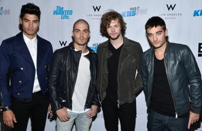 """WESTWOOD, CA - MAY 28:  The Wanted Siva Kaneswaran, Max George, Jay McGuiness, Tom Parker attend the Viewing Party For The Premiere Of E! Networks' """"The Wanted Life"""" at W Westwood on May 28, 2013 in Westwood, California.  (Photo by Frazer Harrison/Getty Images)"""