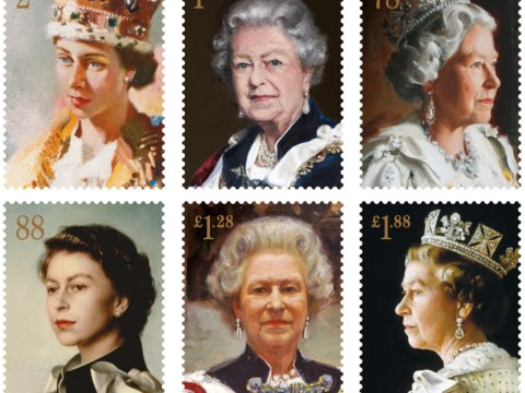Gallery: Queen Elizabeth II Royal Mail stamps