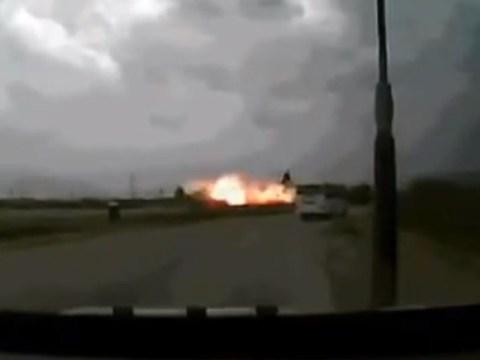 Dramatic video captures Afghanistan cargo plane crash, killing seven US citizens