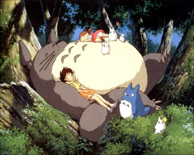Hand-drawn Totoro is the visual equivalent of a hug (Picture: supplied)