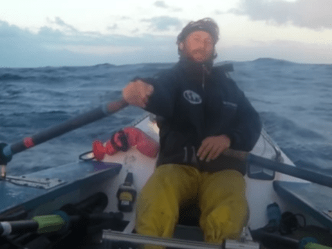 Friends rowed across Indian ocean after drunken bet