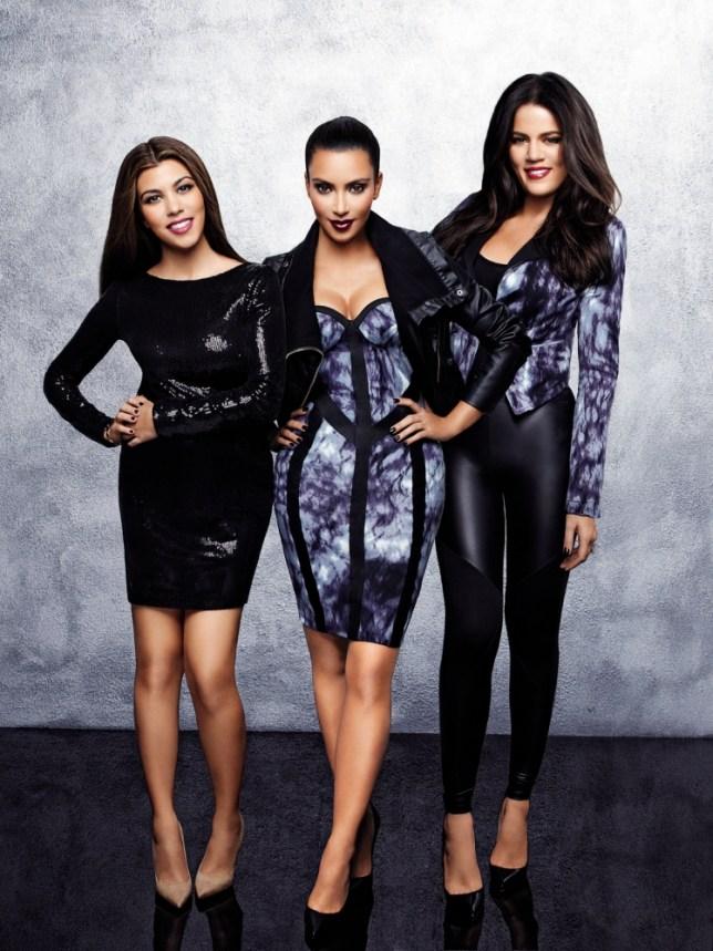 Kim, Kourtney and Khloe Kardashian
