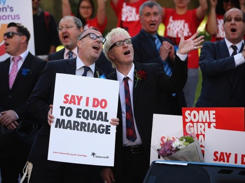 Celebrations as House of Lords votes in favour of same-sex marriage