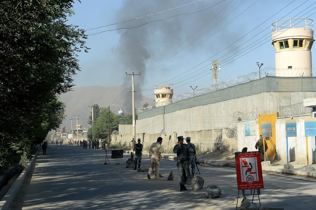 Taliban launch suicide attack on presidential palace in Kabul