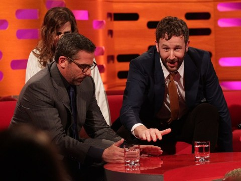 Steve Carell gives fly its last rites on Graham Norton Show