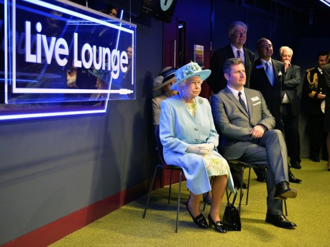 VIDEO: The Queen unimpressed by The Script's Live Lounge performance