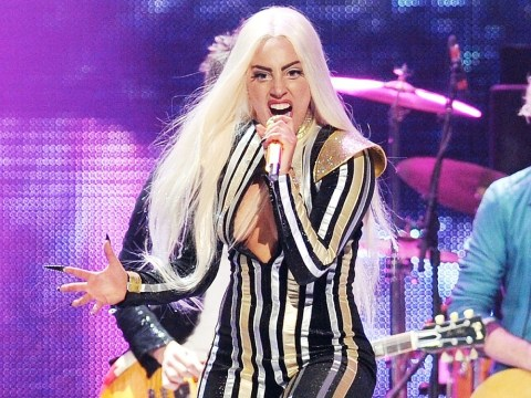 Lady Gaga reveals new piercing and possible new music from Artpop album app
