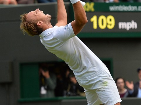 Wimbledon 2013: Steve 'the shark' Darcis is hunting more prey