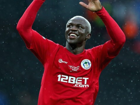 Everton and Liverpool transfer target Arouna Kone happy to stay at Wigan