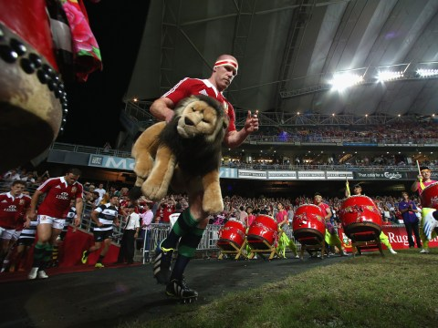 Gallery: British and Irish Lions win against the Barbarians