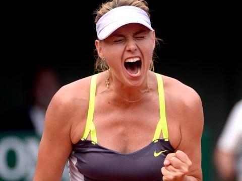 Maria Sharapova beats Victoria Azarenka to reach French Open final