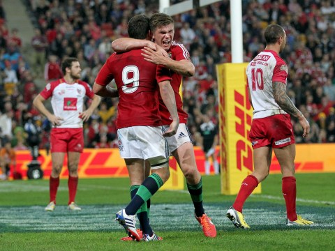 Lions continue unbeaten start to 2013 tour with victory over Queensland Reds