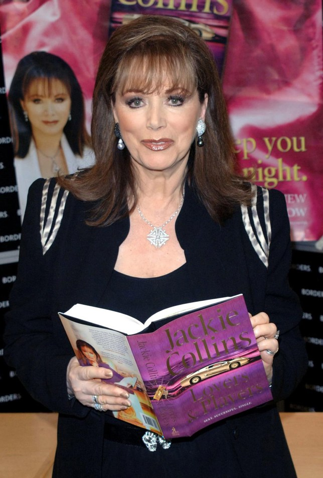 Author Jackie Collins claims no one wants to play Christian Grey (Picture: PA)