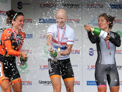 Gallery: Joanna Rowsell wins time trial at UK National Road Race Championships 2013