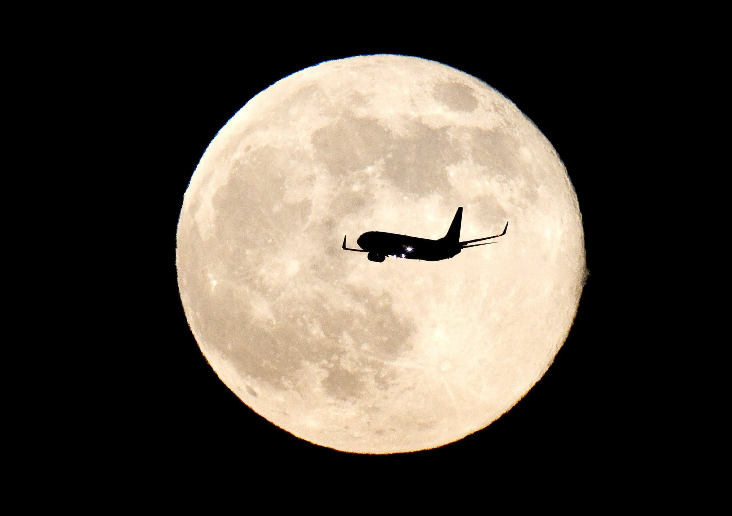 About 10 per cent of Britons believe the Moon is closer than Australia (Picture: EPA/CHEMA MOYA)