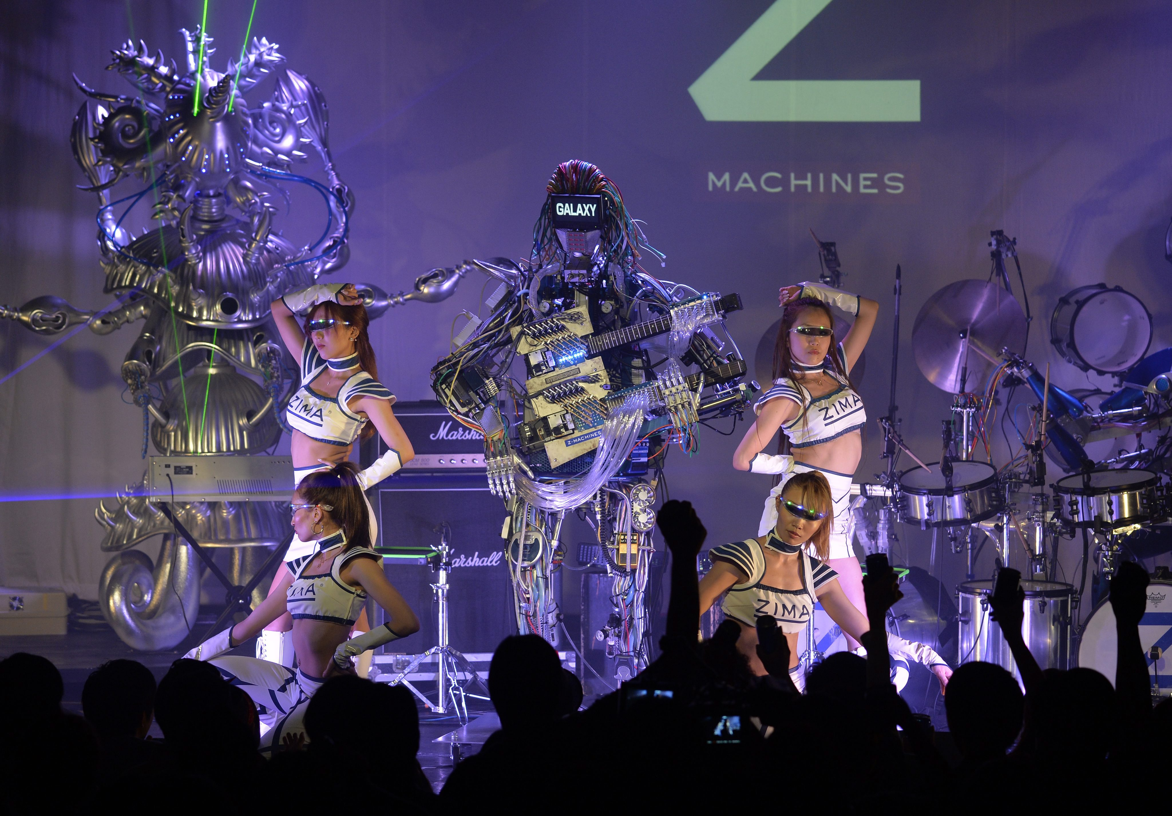 Gallery: Robo-rockers Z Machines preform debut gig