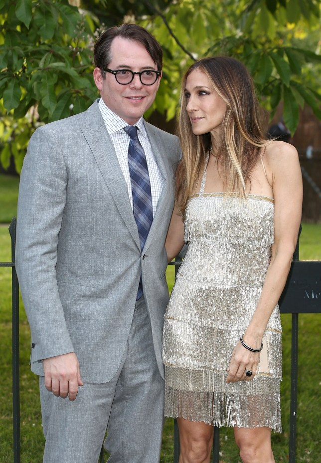 Sarah Jessica Parker and Matthew Broderick at the Serpentine Summer Party (Picture: Tim P. Whitby/Getty Images)