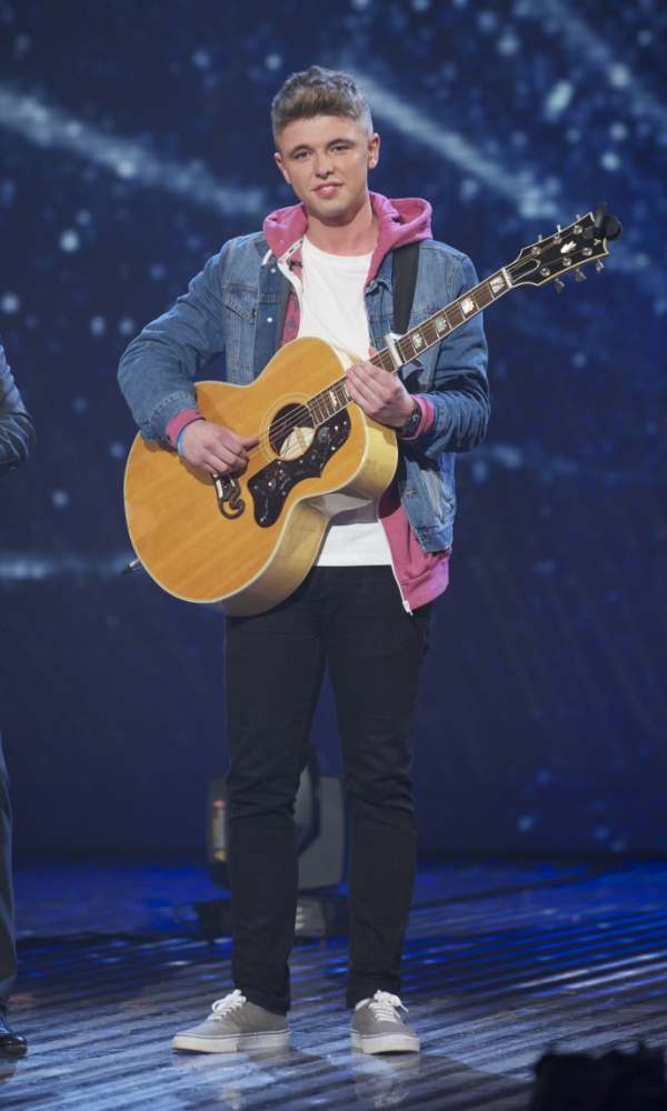 Britain's Got Talent Semi Final Show 5 Live on ITV1 - Saturday 1st June 2013. Jordan O'Keefe (singer/guitarist)