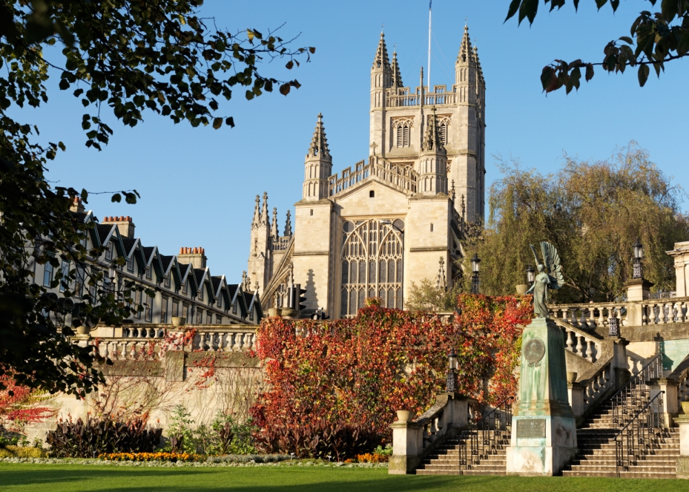Bath Abbey, which was founded in 1499 (Picture: Colin Hawkins)