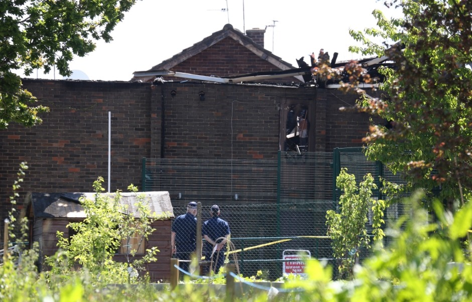 Muswell Hill fire: EDL graffiti on mosque destroyed in fire