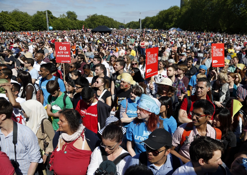 Hunger Summit secures £2.7bn as thousands rally at Hyde Park