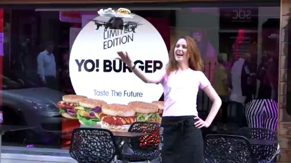 Video: World's first flying tray at sushi restaurant YO! Sushi