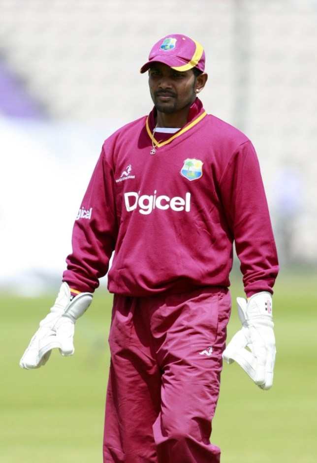 File photo dated 15/06/2012 of West Indies Denesh Ramdin. PRESS ASSOCIATION Photo. Issue date: Tuesday June 11, 2013. Denesh Ramdin will not appeal his two-match ban for falsely claiming a catch during the West Indies' two-wicket victory over Pakistan last week, the West Indies Cricket Board has announced. See PA story CRICKET West Indies. Photo credit should read: Tim Hales/PA Wire