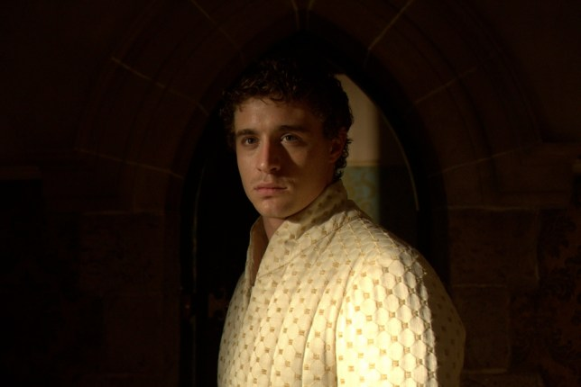 Max Irons plays Edward IV in The White Queen (Picture: Company Pictures)