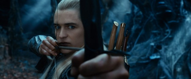 Orlando Bloom makes an appearance as Legolas