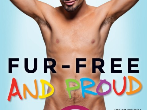 Rylan Clark strips off for new PETA campaign