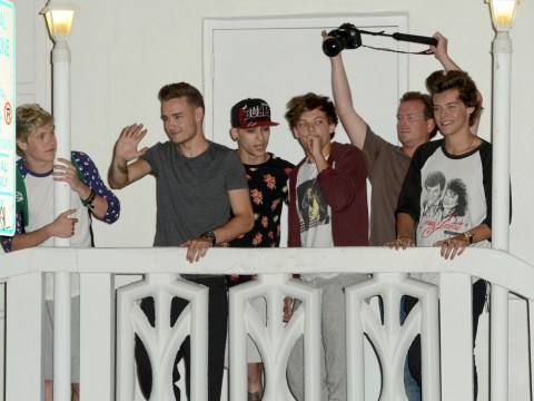 One Direction treat fans to a balcony wave as Take Me Home tour hits Miami