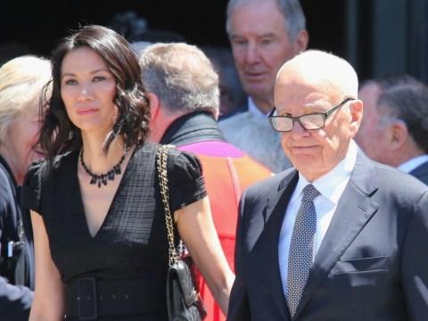 Rupert Murdoch files for divorce from Wendi Deng