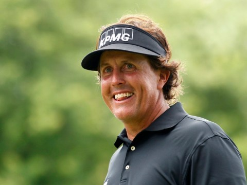 Phil Mickelson off to the ideal start at US Open despite late arrival