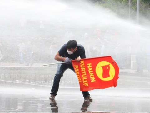 Turkey uses tear gas and arrests to clear its streets
